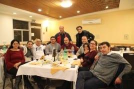 AIES alumni at Ein Gedi