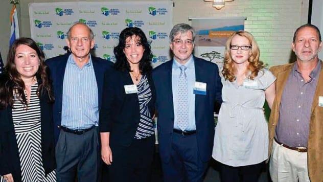 Sarah Hefez, Howie Rodenstein, Ronit Nudelman, David Eisenberg, Branwen Cale, David Lehrer - Sept. 21, 2014
