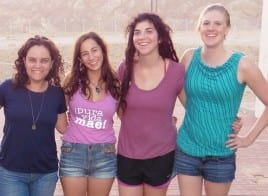 Miriam, Danielle, Lizzy and Jaclyn