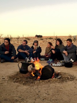 Fall 2015 Negev Trip (photo: Miriam Grunfeld)