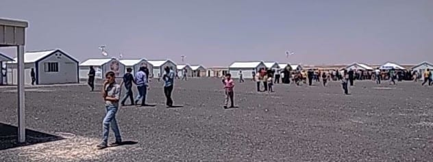 Azraq Refugee Camp 3