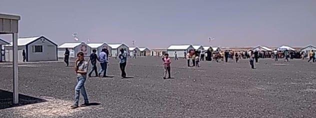 Azraq Refugee Camp 3